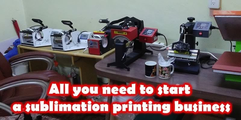 How to Start a Sublimation Printing Business